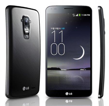 Официальная презентация изогнутого смартфона LG G Flex