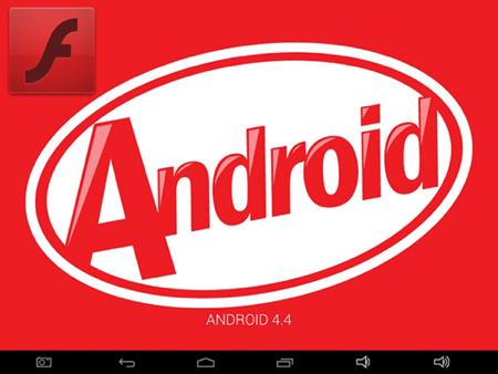 Установка Flash Player на Android 4.4 KitKat