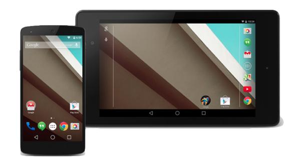 Android L: новая версия мобильной платформы от Google