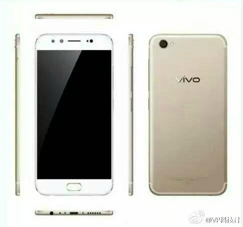 Первые изображения Vivo X9 и X9 Plus появились в сети