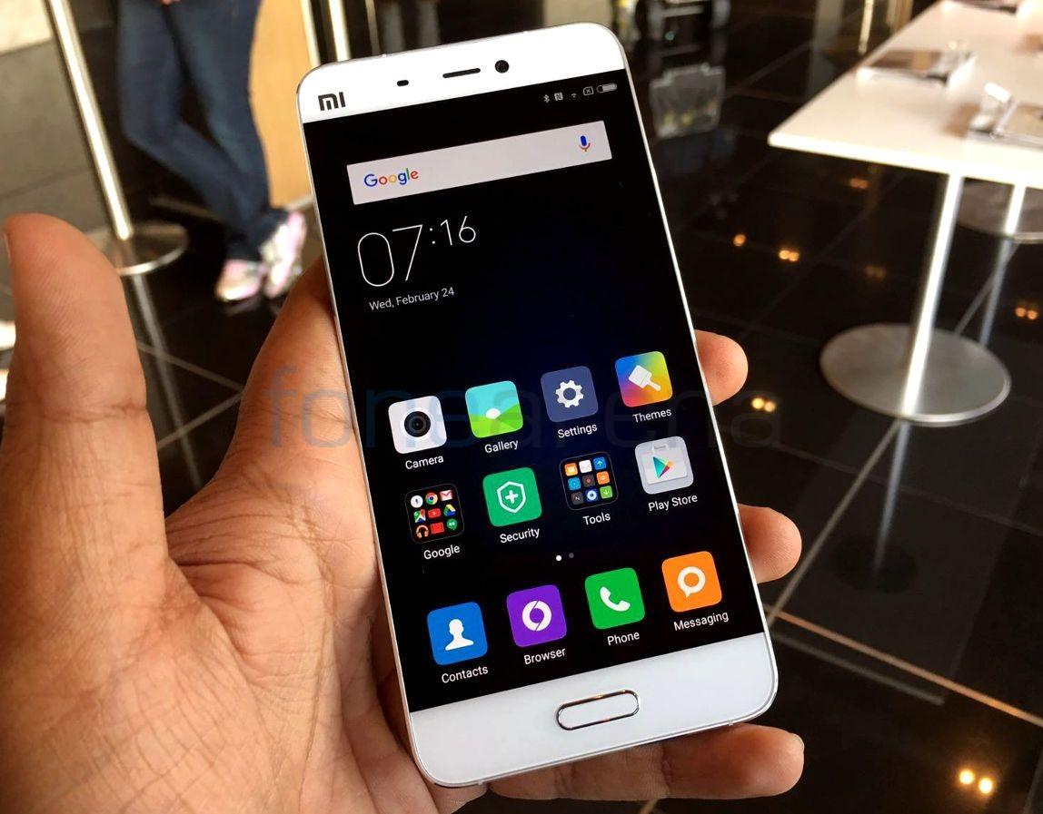 Xiaomi Mi6 представят в3-х вариантах сразной ценой