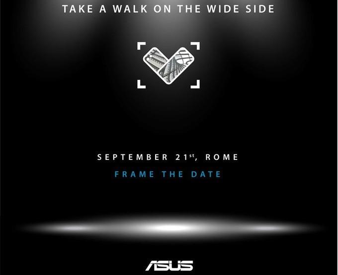 ASUS представит 21сентября смартфон ZenFone 4