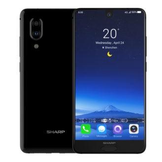 Aquos S2: первый безрамочный смартфон от Sharp на Snapdragon 630
