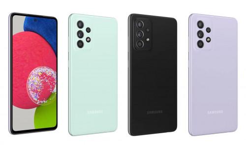 Раскрыты все характеристики обновлённого Samsung Galaxy A52s